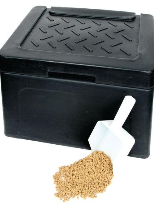 30 Litre Mini Grit Bin Kit + 10kg Bag Salt
