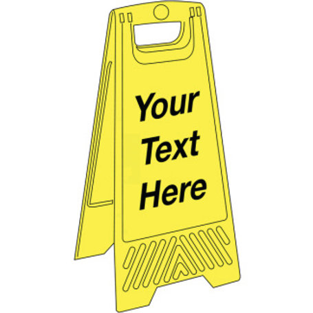 Safety / General / Construction Signs - Floor Stands  - Blank