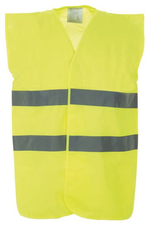 Protective Clothing - Waistcoats / Yellow