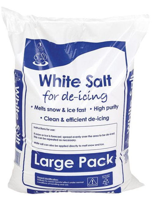 Pallet of 42 x 25kg De-Icing Salt