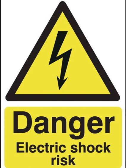 Safety / General / Construction Signs - Electric Shock
