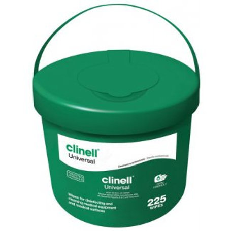 Clinell Bucket of 225 Wipes
