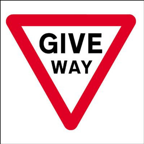 Safety / General / Construction Signs - Stanchion - Give Way