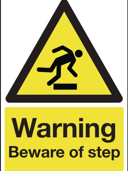 Safety / General / Construction Signs - Beware Of Step