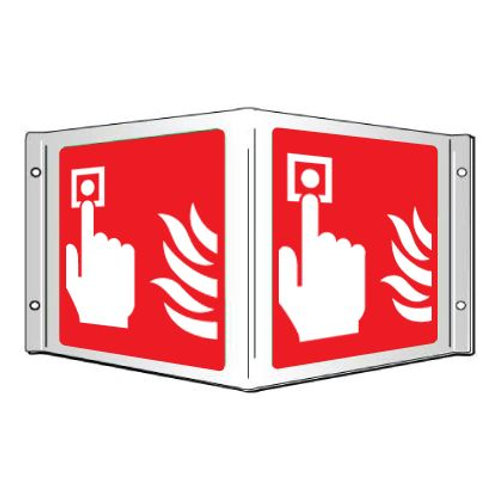 Projecting 3D Signs - Fire Alarm/ Fire Point / Fire Hose Reel /Fire Extinguisher