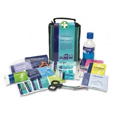 First Aid - British Standard Compliant Travel First Aid Kit