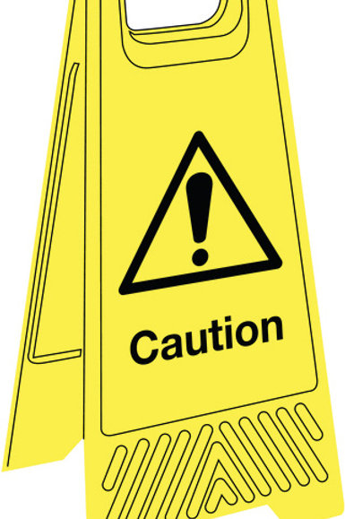 Safety / General / Construction Signs - Floor Stands  - Various
