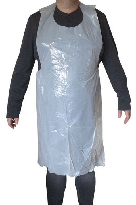 NHS Approved Disposable Polythene Aprons - Box 600