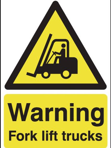 Safety / General / Construction Signs - Aluminium - Fork Lift Trucks