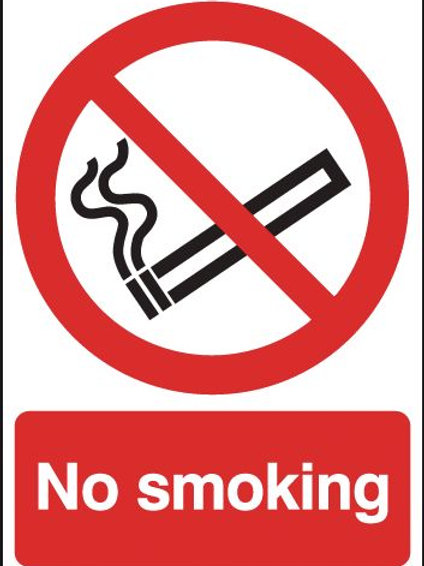 Safety / General / Construction Signs - No Smoking