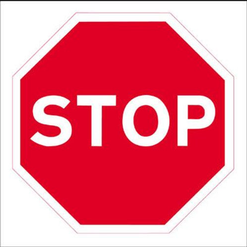Safety / General / Construction Signs - Stanchion - Stop