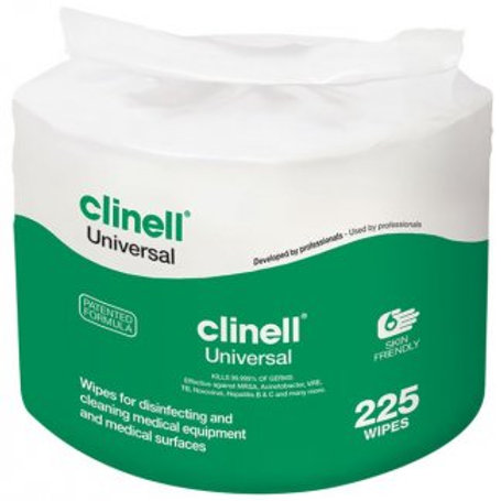 Clinell 225 Wipe Refill for Bucket