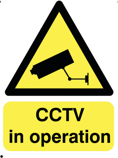 Safety / General / Construction Signs - Vandal Resistant - CCTV In Operation