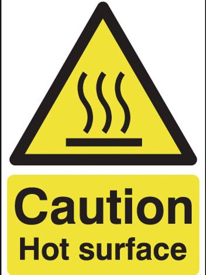 Safety / General / Construction Signs - Magnetic - Hot Surface