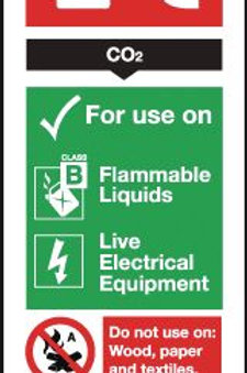 Safety / General / Construction Signs - CO2 / Dry Powder / Foam / Water