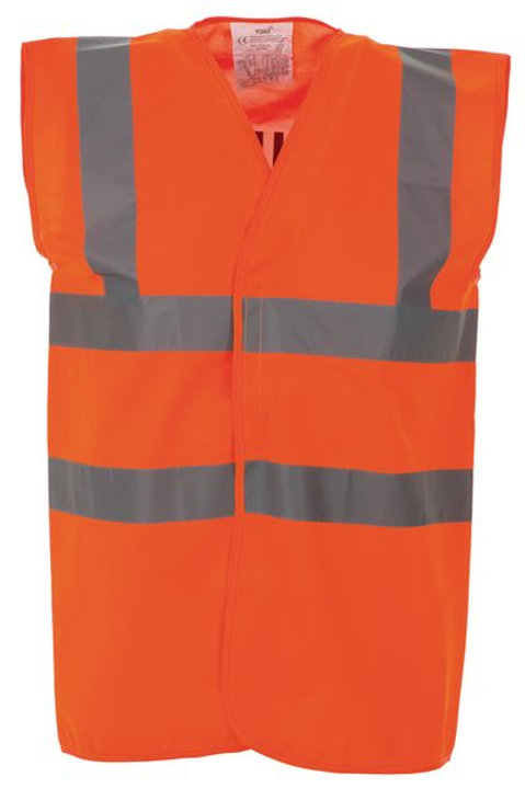Protective Clothing - Waistcoats / Orange
