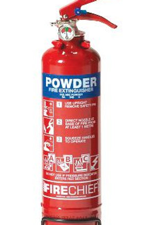 Fire Safety - ABC Powder Fire Extinguishers