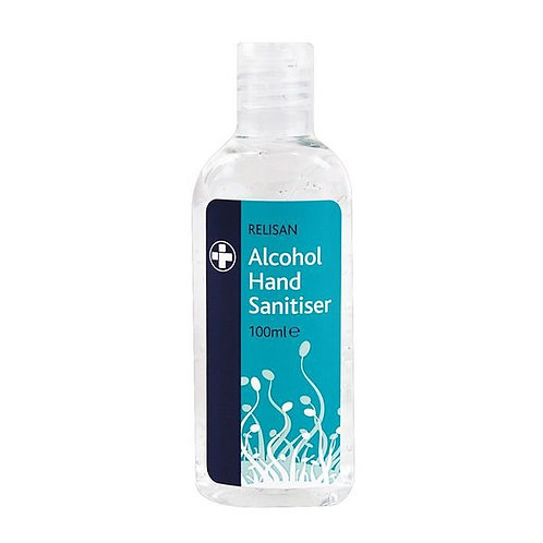 Alcohol Hand Sanitising Gel 100ml x Case of 20