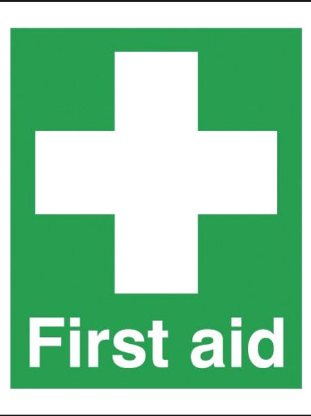 Safety / General / Construction Signs - First Aid Sign