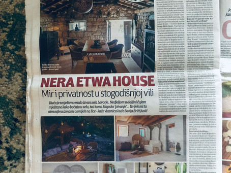 "Nera Etwa House ""A hundred years old stone beauty"""