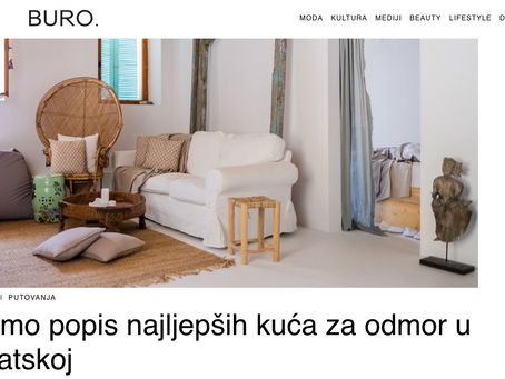We are chosen as one of the most beautiful houses in Croatia!