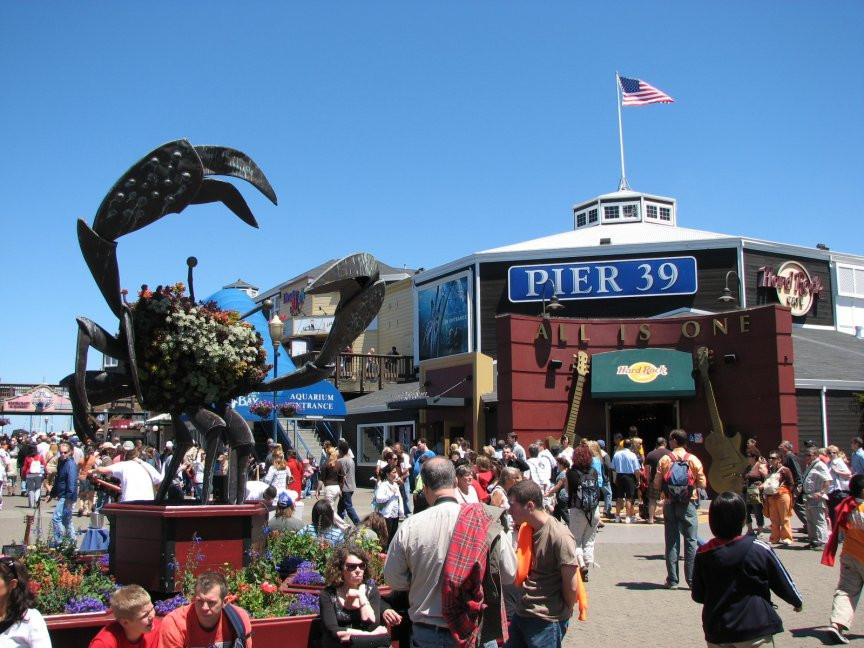Pier 39 – San Francisco!