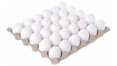 Maple de 30 Huevos Medianos Blancos