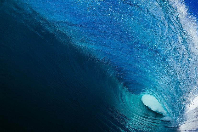 Deep Blue-Canvas