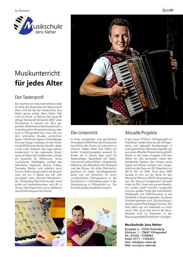 Portrait - Schau rein Ausgabe 27 - Musik