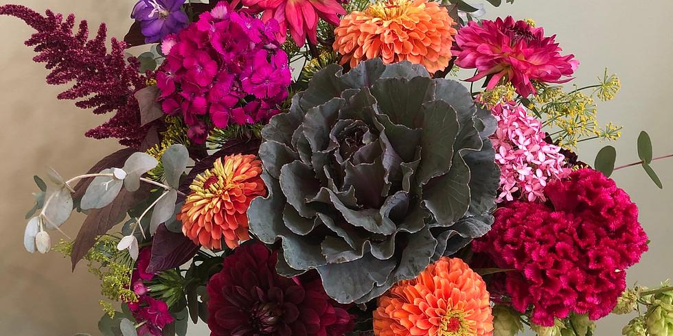 Garden Tour and Bouquet Class