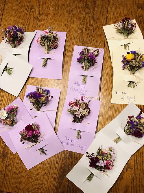 Mini Bouquet Cards