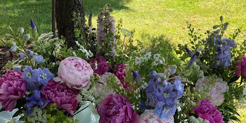 June Garden Tour and Bouquet Class