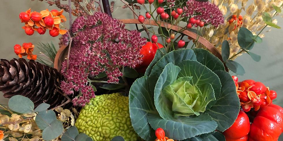Organic Fall Centerpiece