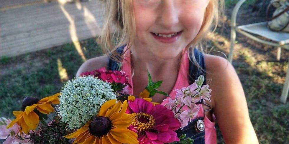 July Garden Tour and Bouquet Class