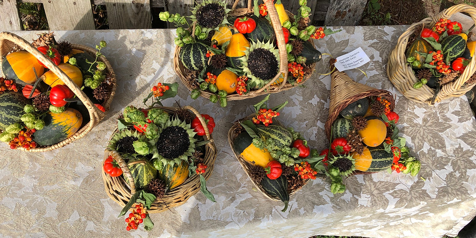 Decorative Fall Basket Class