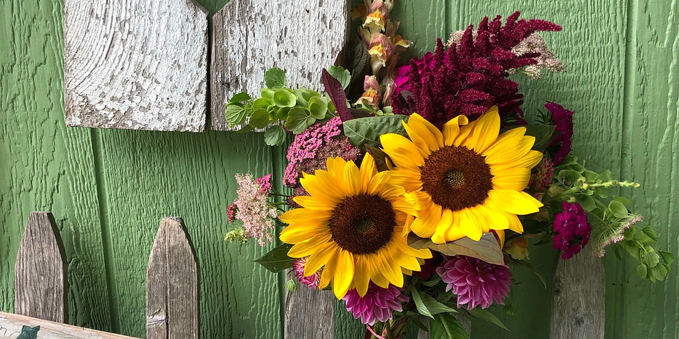 Garden Tour and Create Your Own Bouquet Class