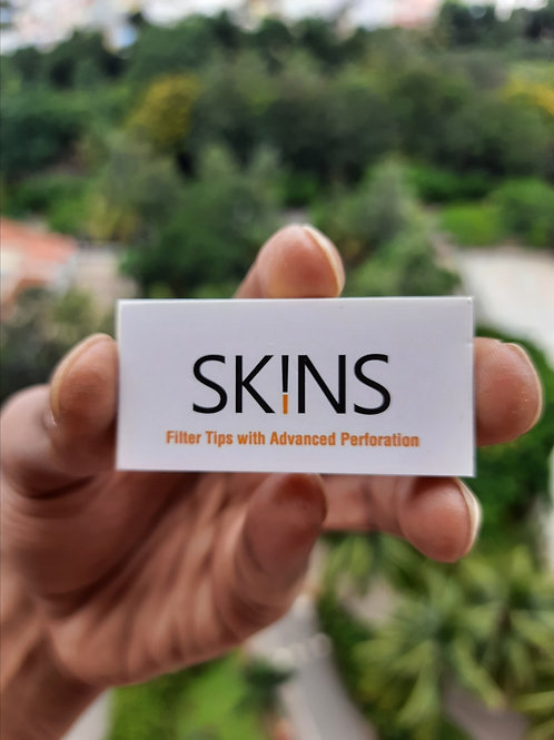 Skins Filter Tips with Advanced Perforation