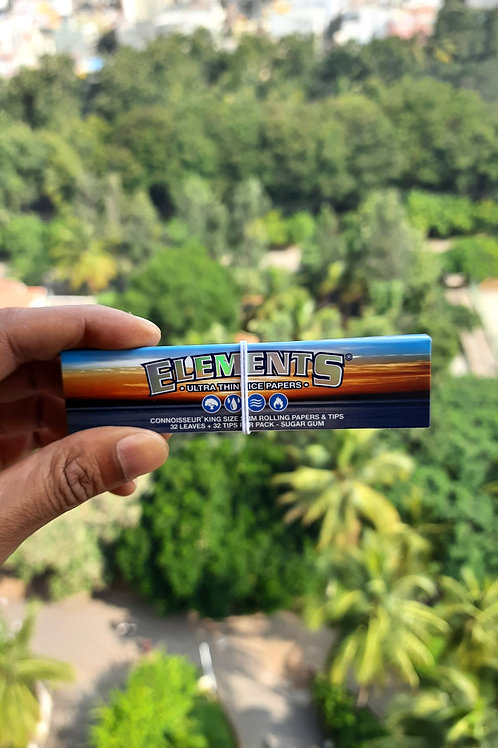 Elements Connoisseur Ultra Thin Rice Papers