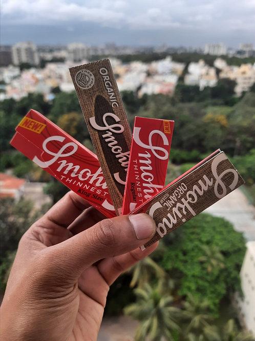 Smoking Thinnest + Organic Combo @ 10% Discount