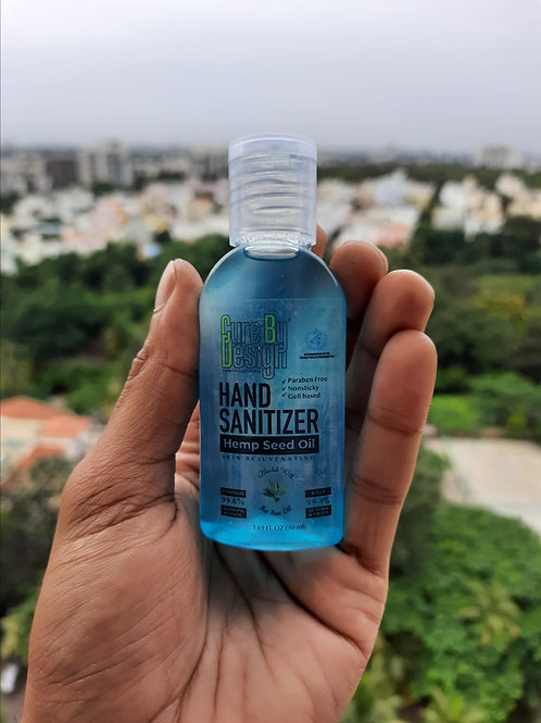 Hemp Hand Sanitizers from Cure by Design
