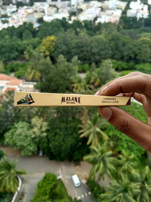 Malana Natural - Pre Rolled King Size Cones