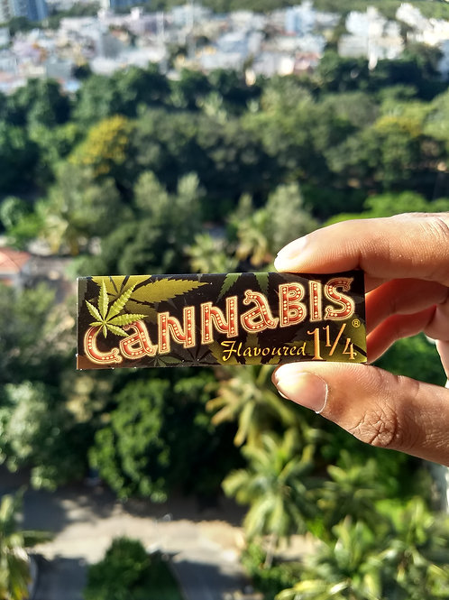 Cannabis Flavoured 1 1/4th Hemp Papers