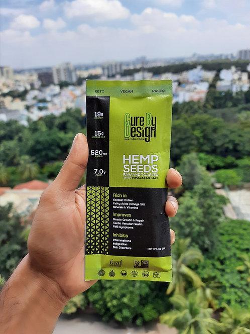 Cure by Design Hemp Food Travel Packs