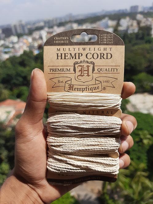 Hemp Cord Multi-weight set 10-20-36-48lbs