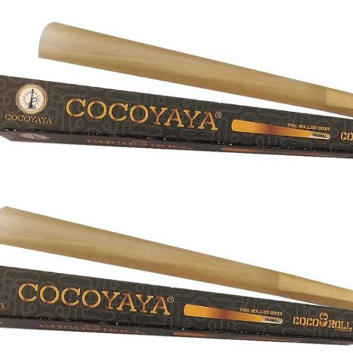 COCOYAYA Coco Roll - Pre Rolled Unbleached King Size Cones