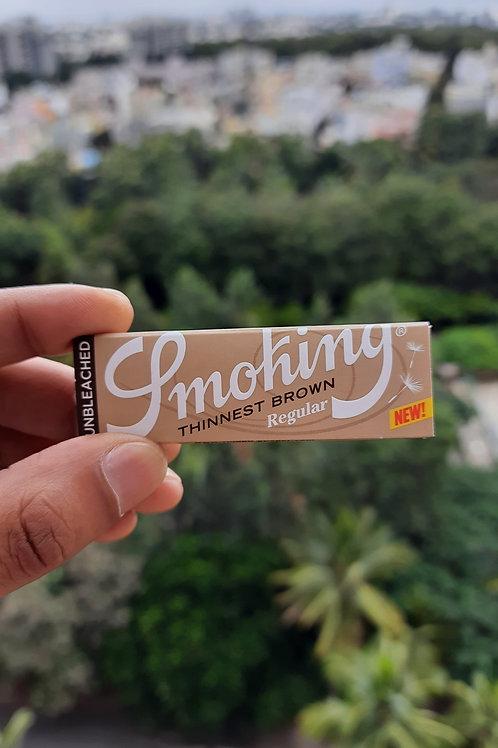 Smoking Thinnest Brown
