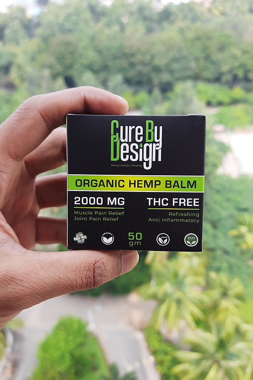 Cure By Design CBD Pain Relief Balm