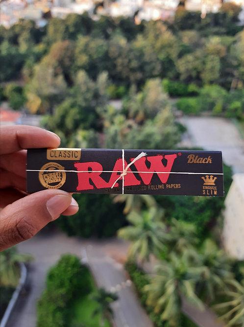 RAW Black King Size Slim (32 Leaves)