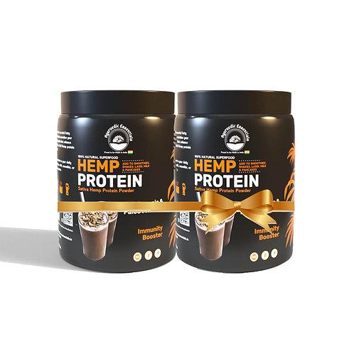 Ayurvedic Essentials Hemp Protein Powder Combo Pack | 500 GM
