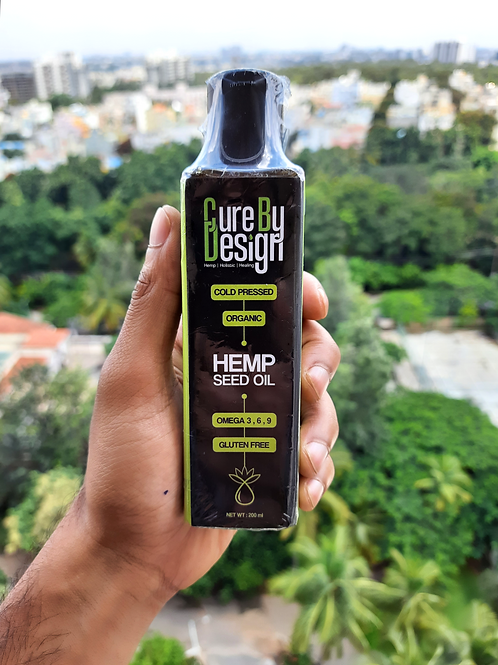 Cure by Design Hemp Seed Oil (200ml)